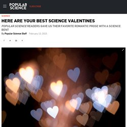 Here Are Your Best Science Valentines