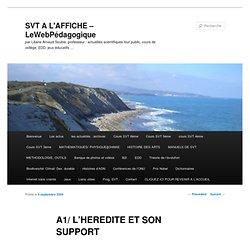 SVT A L'AFFICHE - MATHPHY - LeWebPédagogique