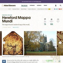 Hereford Mappa Mundi – Hereford, England