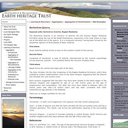 Site Examples « Herefordshire & Worcestershire Earth Heritage Trust