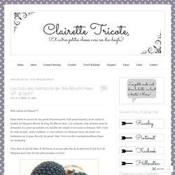 Clairette Tricote, (et autres petites choses avec ses 10 doigts)!