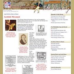 York County Heritage Trust – John Durang » Acrobatic Movement