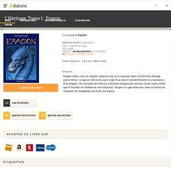 L'Héritage, Tome 1 : Eragon - Christopher Paolini