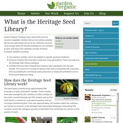 What is the Heritage Seed Library?
