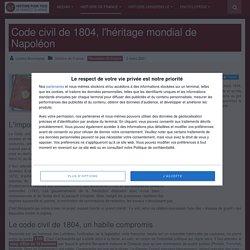Code civil Napoléon (1804)