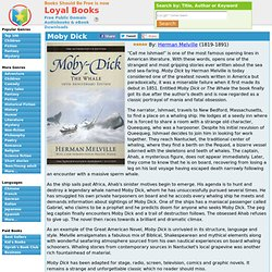 Moby Dick by Herman Melville - Loyal Books