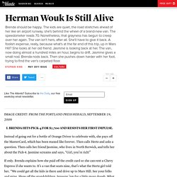 Herman Wouk Is Still Alive - Stephen King