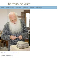 herman de vries - official website