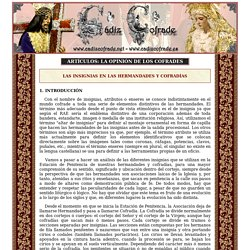 Artículos: Las insignias en las Hermandades y Cofradías - www.cadizcofrade.net