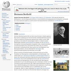 Hermann Berthold