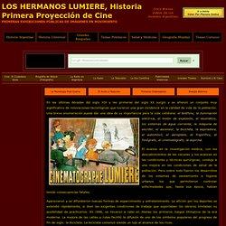 Hermanos Lumiere Primera Proyeccion de Cine Historia del Cine