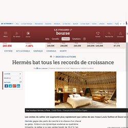 Hermès bat tous les records de croissance