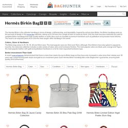 Hermès Birkin Bag Collection