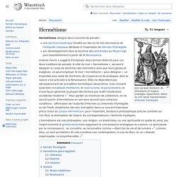 Hermétisme