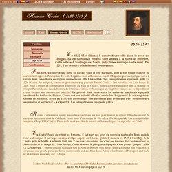 Hernan Cortes - Biographie/Biografy (1480-1547)