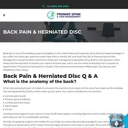 Find a Back Pain Doctor in Clifton, NJ