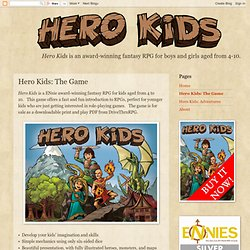 Hero Kids: The Game