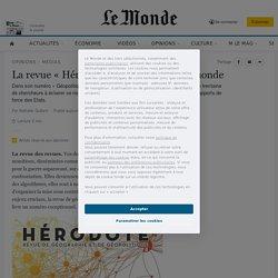 La revue «Hérodote» décrypte le cybermonde