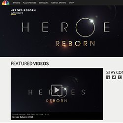 Heroes TV Show on NBC: NBC Official Site