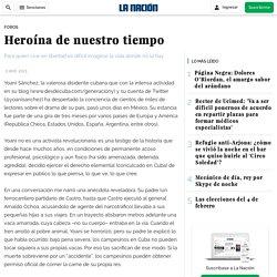 Heroína de nuestro tiempo - La Nación