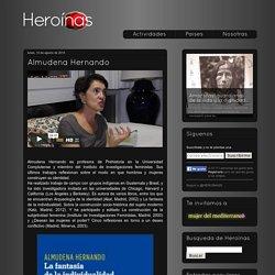 Heroínas: Almudena Hernando