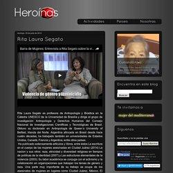 Heroínas: Rita Laura Segato