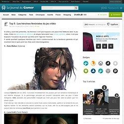 Top 5 : Les héroïnes féministes du jeu vidéo