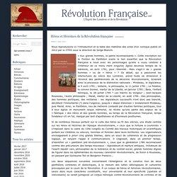 Héros et Héroïnes de la Révolution française - Révolution Française