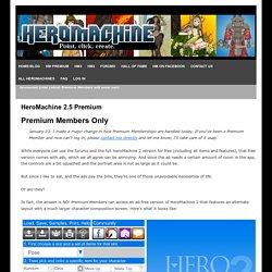 HeroMachine Character Portrait Creator