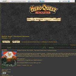 Module Vassal : HeroQuest Remaster