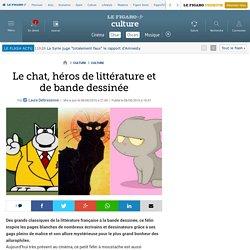Le chat, héros de littérature et de bande dessinée