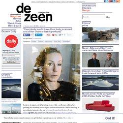 Iris van Herpen Print Shift interview