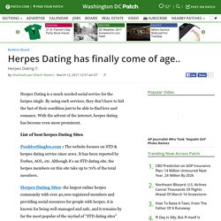 Herpes Dating has finally come of age.. - Washington DC, DC Patch