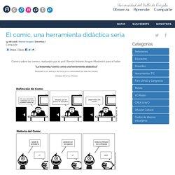 El comic, una herramienta didáctica seria