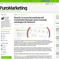 Pinerly la nueva herramienta del Community Manager para el manejo estrategico de Pinterest - Puro Marketing - Waterfox