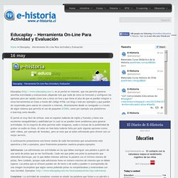 Clase 1 - Referencia Educaplay