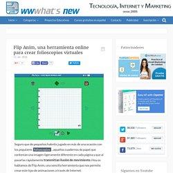 Flip Anim, una herramienta online para crear folioscopios virtuales