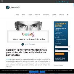 Genially, la herramienta definitiva para dotar de interactividad a tus contenidos. By javierdisan.com