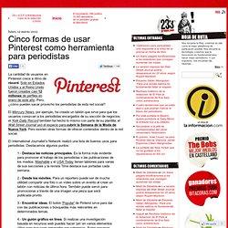 Pinterest como herramienta para periodistas