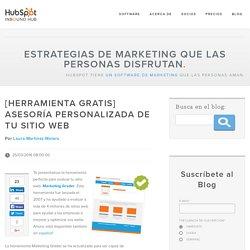 [Herramienta gratis] asesoría personalizada de tu sitio web