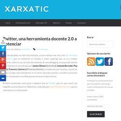 Twitter, una herramienta docente 2.0 a potenciar