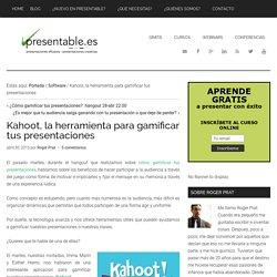 Kahoot, la herramienta para gamificar tus presentaciones