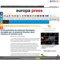 Turismo.- La herramienta de software Ruralgest, escogida por el proyecto Prointur para relanzar el turismo rural. europapress.es