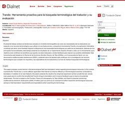 articulo: Herramienta para la traducción- Trandix