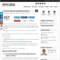 La analitica web como herramienta de negocio vía