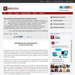Herramientas de almacenamiento de archivos en línea