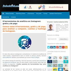8 herramientas de analítica en Instagram: gratis y de pago