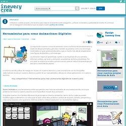 Herramientas para crear Animaciones Digitales