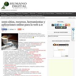 1000 sitios, recursos, herramientas y aplicaciones online para la web 2.0