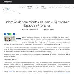 Selección de herramientas TIC para el Aprendizaje Basado en Proyectos